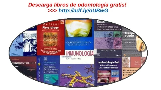 Descarga Libros De Odontología Gratis