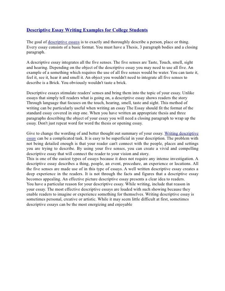 Reflective essay questions