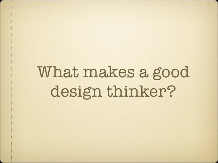 What makes a good design