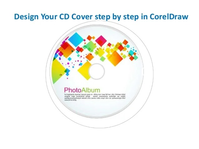 design your cd cover