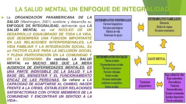 Determinantes Sociales Y Económicos De La Salud Mental Ppt