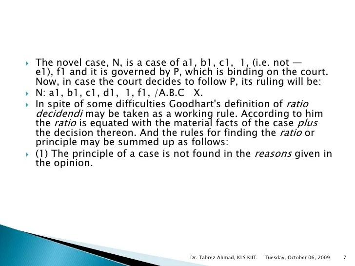 Determinin ratio of a Case