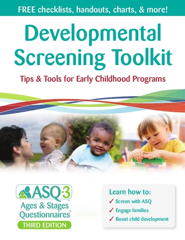 Developmental screening toolkit tips  tools for early childhood programs learn how to screen with also rh slideshare