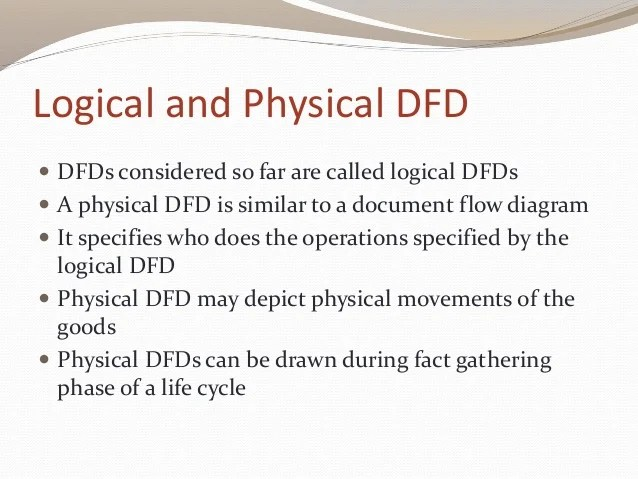 logical data flow diagram 4 6 firing order diagrams and physical dfd