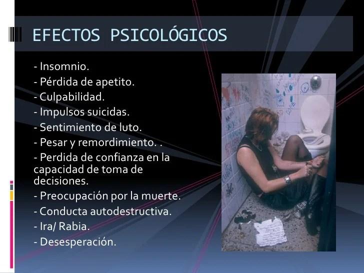 Resultado de imagen para aborto efectos psicologicos