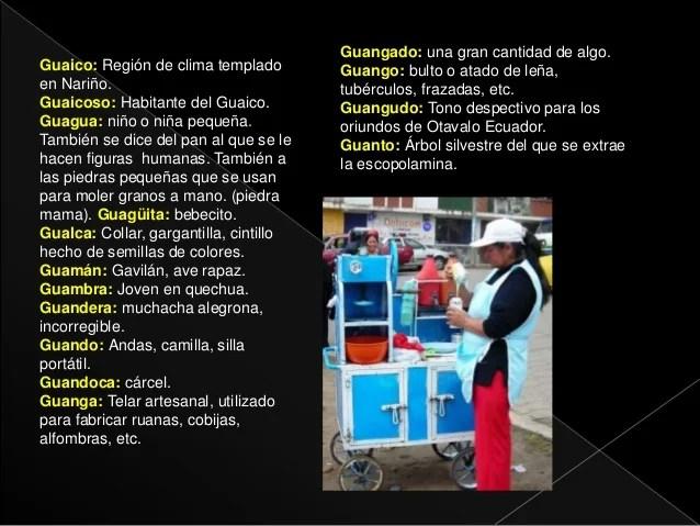 Diccionario pastuso