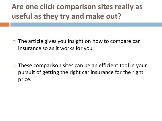 Car Insurance Comparison Did You Compare Your Car Insurance Quotes W