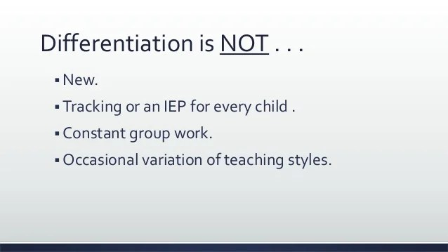 Diverse Learners Learning And Differentiated