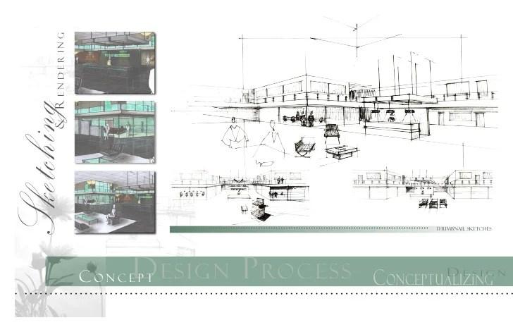 interior design digital portfolio examples