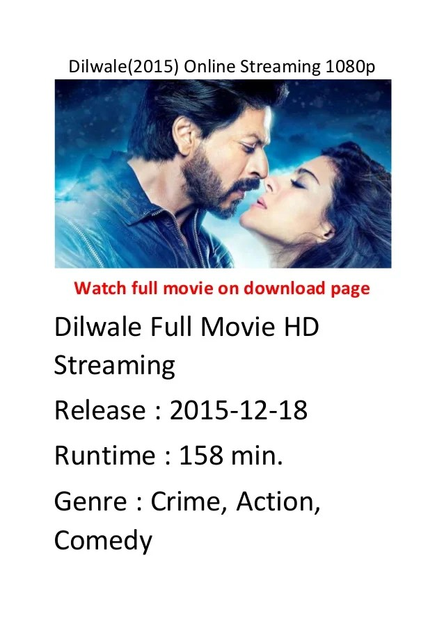 dilwale 2015 online streaming