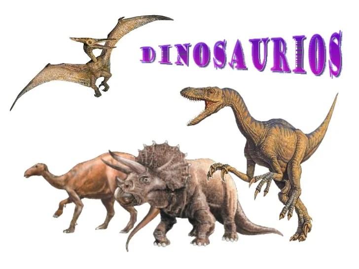 Conocemos A Los Dinosaurios