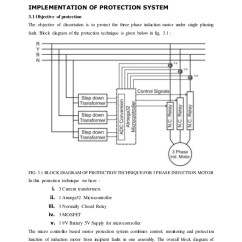 Three Phase Induction Motor Diagram Sql Server Entity Relationship Protection System Seminar Report
