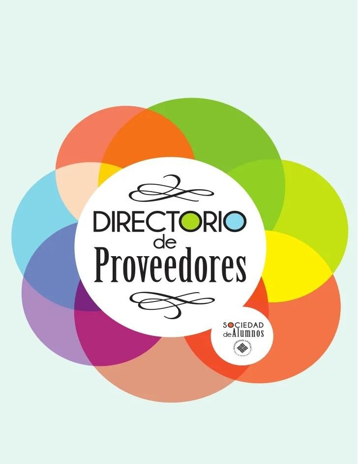 Directorio de proveedores