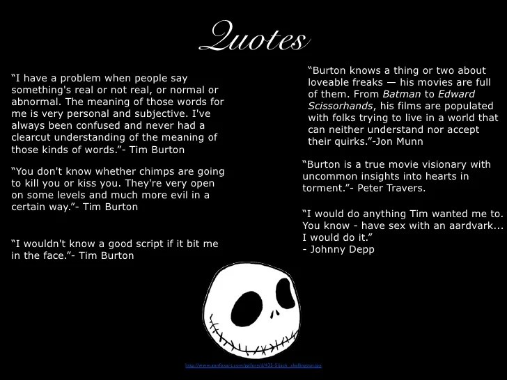 nightmare before christmas quotes to live by - Quotes From Nightmare Before Christmas