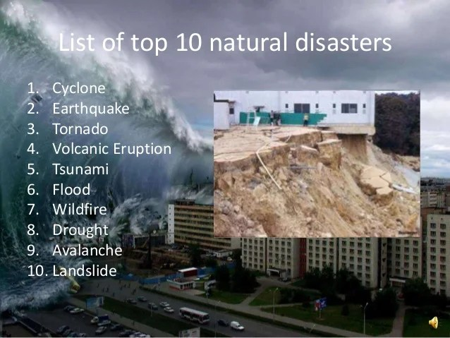 Disasters & Its Management
