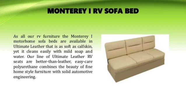 best built sofa beds seat cushions for discount van truck the price and quality rv 7 sedona i bed