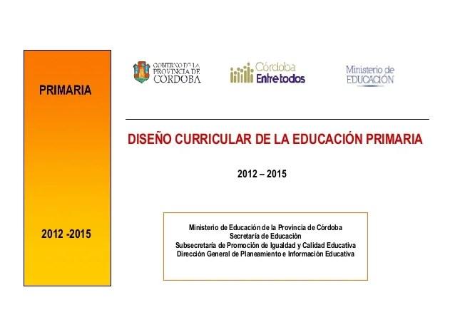 Diseo curricular primario 2012__2015