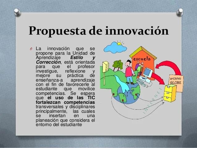 Diseo de propuestas educativas innovadoras en la planeacin