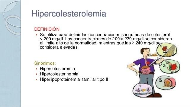 HIPERCOLESTEROLEMIA DEFINICION PDF