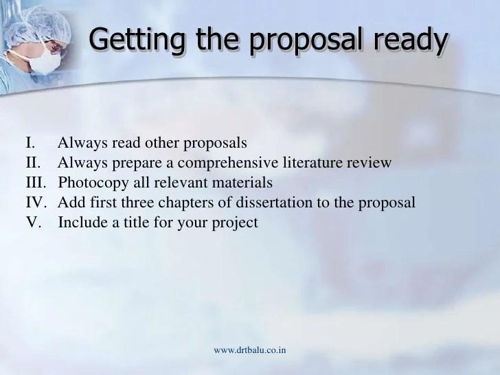 Dissertation projects management
