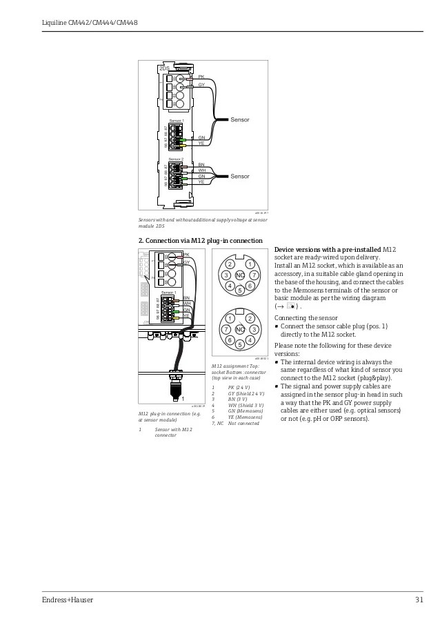 transmitter wiring diagram