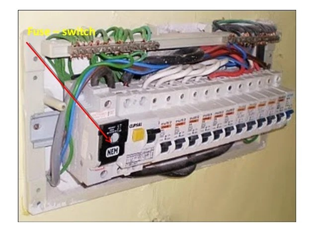 Wiring A Domestic Fuse Board