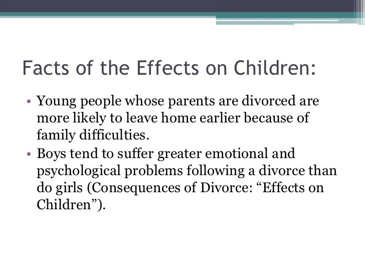 Effects Of Divorce On Children Essay Third Grade Nonfiction Book
