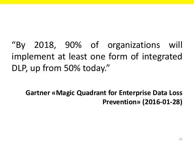 Enterprise Quadrant Prevention Magic Gartner Loss Data