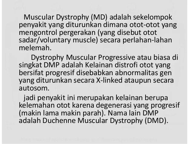 Dmp Dystrophy Muscular Progressive