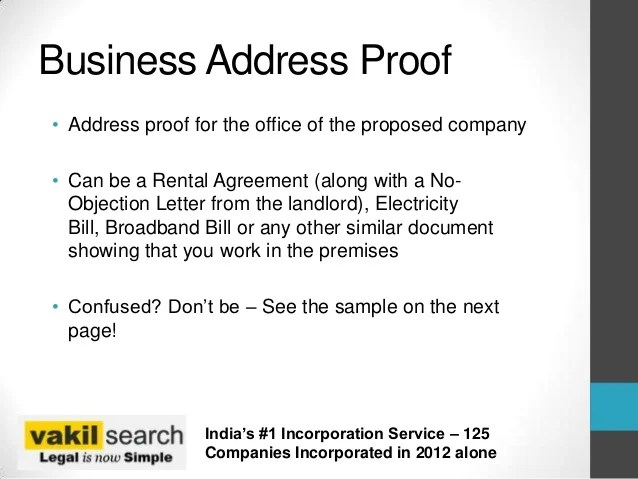 Sample Letter Format For Address Proof Cover Letter