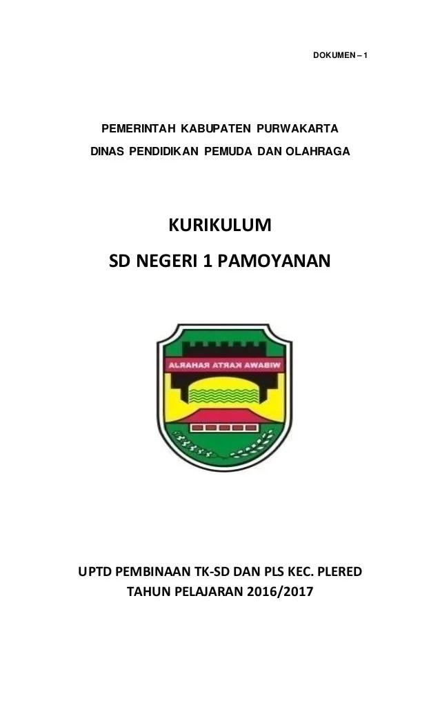 Dokumen 1 Ktsp Sd 2017/2018 : dokumen, 2017/2018, Dokumen, Pamoyanan, 201617