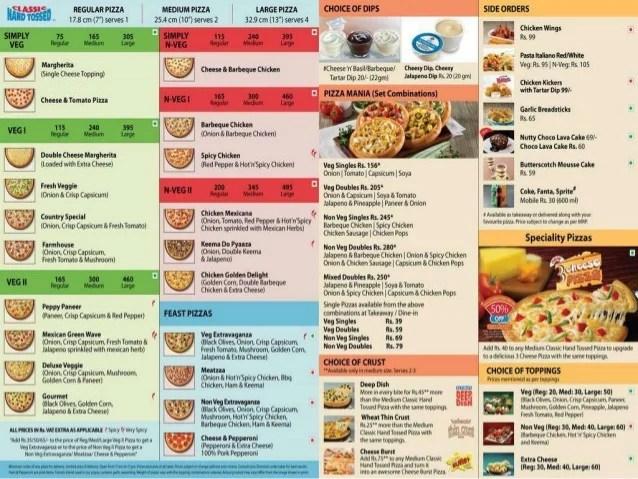 Lanka Pizza Dominos Sri