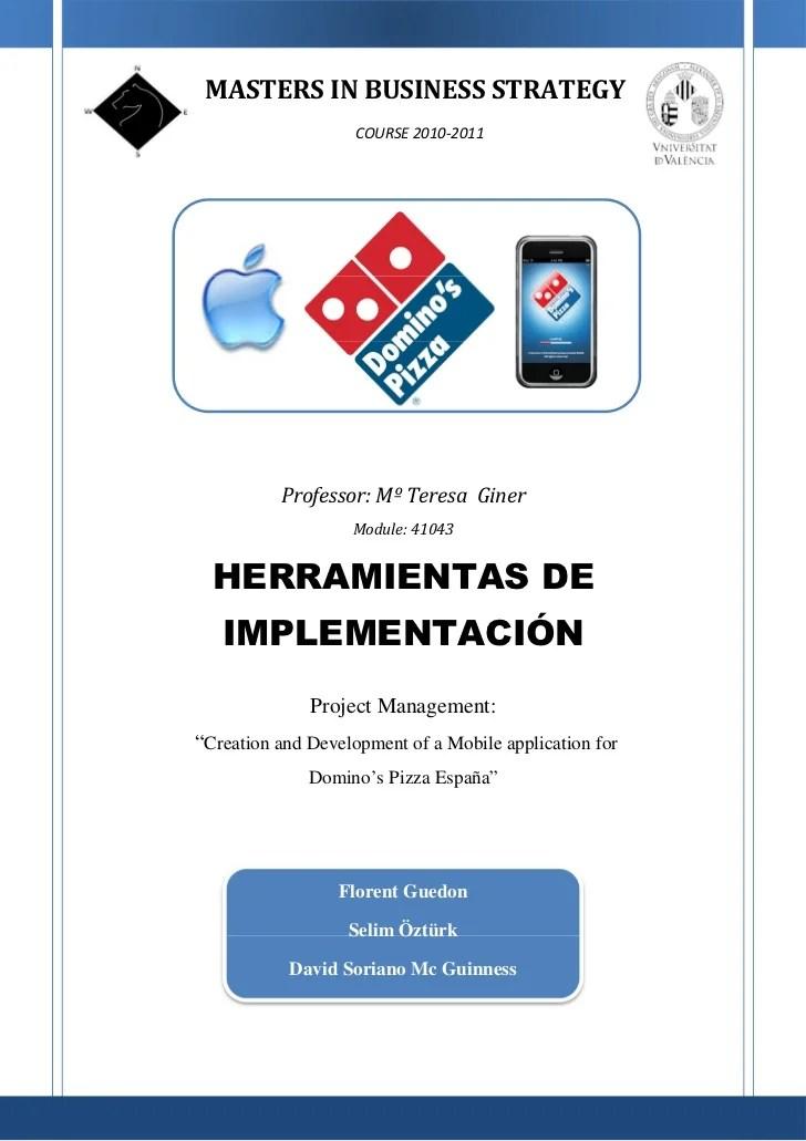 Domino's Pizza Project