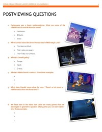 Donald Duck In Mathmagic Land Worksheet Worksheets. Donald