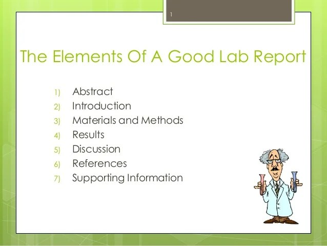 The Do S Don Ts Of Lab Reports Mcgill Sus Peer Tutoring