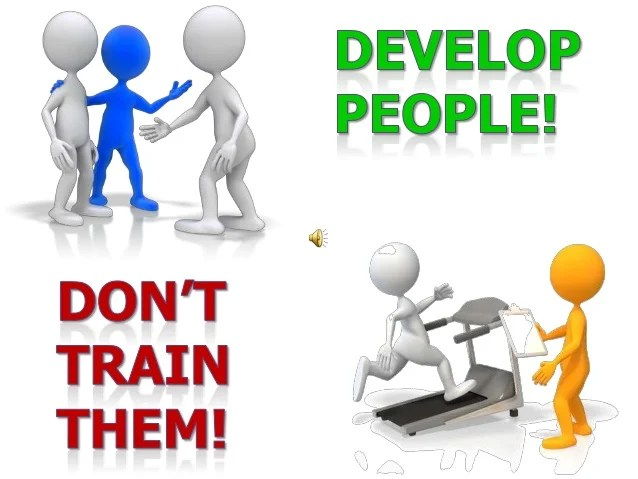 develop people don t