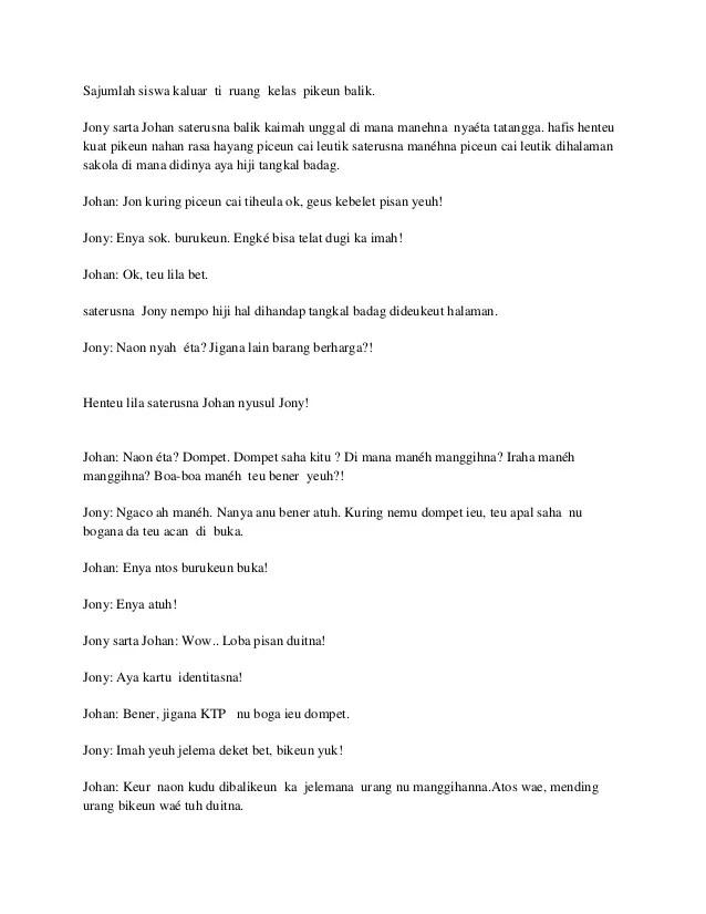 Teks Drama 6 Orang : drama, orang, Drama, Sunda, Orang, Hutfasr