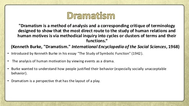 Rhetoric Dramatism Narrative Paradigm Essay Help