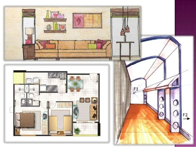 Interior Designers Drawings Learn And Practice Basic