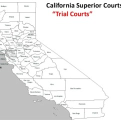 California Court System Diagram Single Coil Wiring Dual 16 Superior Courts Trial