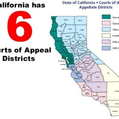 California Court System Diagram Bosch E Bike Wiring Dual Has 6courts Of Appeal Districts 42