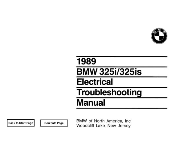 BMW E30 Wiring DIagram