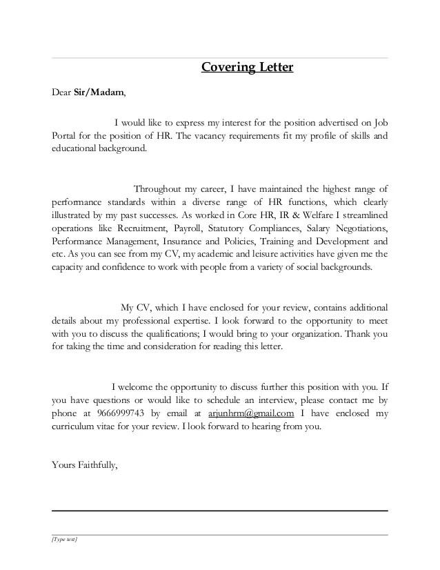 HR Resume Arjun Kumar