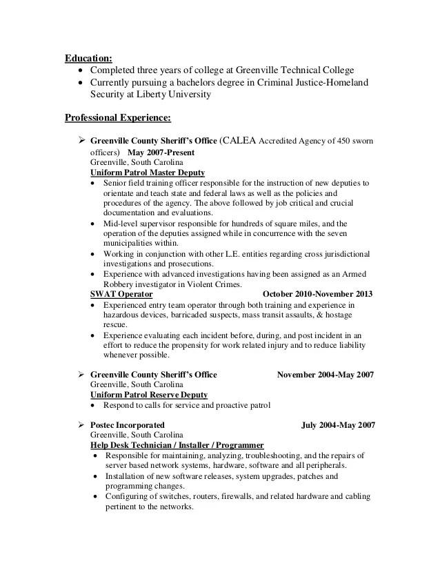 resume education pursuing degree
