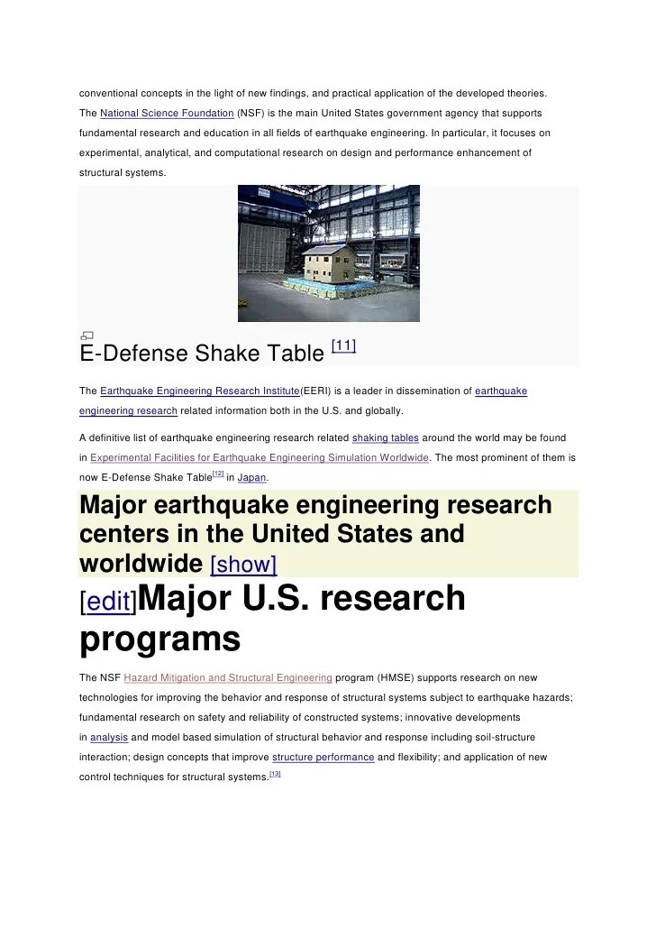 Pacific earthquake engineering research proposal template