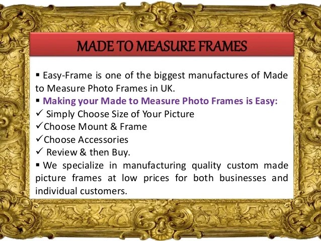 made to measure picture frames | Frameswalls.org