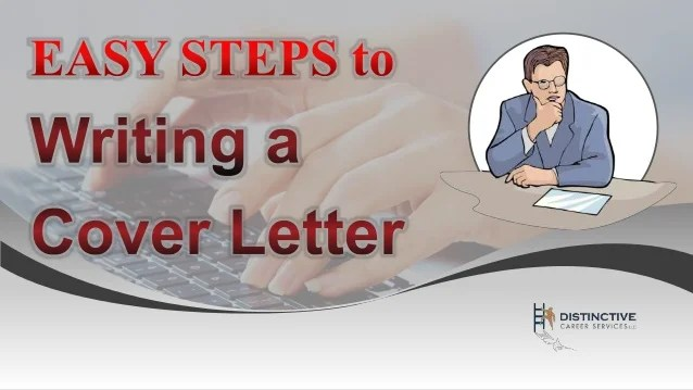 Easy Steps to Writing a Cover Letter