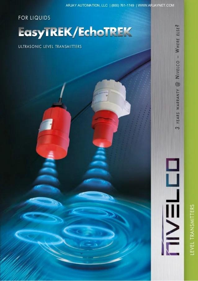 4 wire ultrasonic level transmitter whirlpool duet electric dryer wiring diagram easytrek echotrek transmitters for liquids