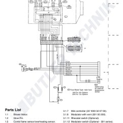 Wiring Diagram For 7 Way Blade Plug How To Do Orbital Diagrams Eberspacher Airtronic D2 Instructions