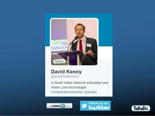 TaKaDu presentation - CIWEM Smart Water Networks Seminar - 4 Dec 2014…